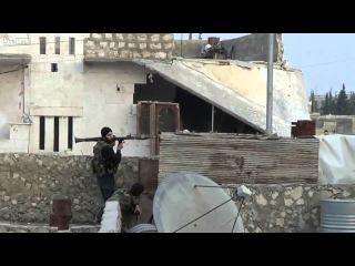 Сирия Война РПГ взорвался в руках повстанца в Алеппо. Новое