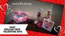 EASY Dollar Tree Valentine DIY Projects | Valentine decor gifts