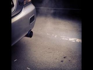 Да здравствует маслажер 😎🔥 #екатеринбург #авто #митсубиси #лансер #лансер9 #mlfekb #парковка #выхлоп #огонь