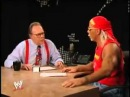 Shawn Michaels pardoy of Hulk Hogan Lary King Live Spoof