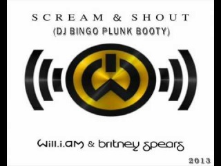 Will I Am feat Britney Spears vs Dirty Rush - Scream & Shout (DJ Bingo Plunk Booty)