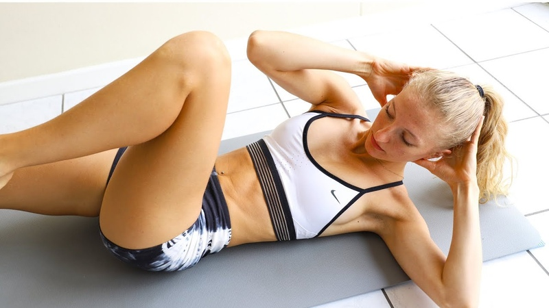 10 min BEGINNER AB WORKOUT At Home Equipment Free