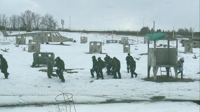 Благотворительная игра в пейнтбол в Новосадовом