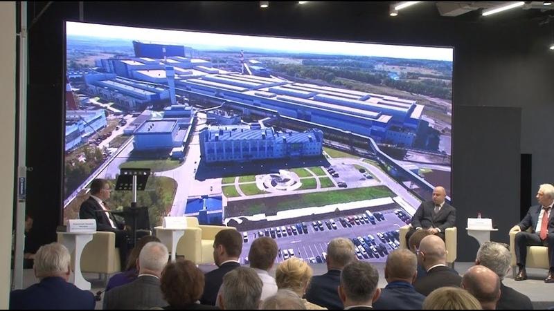 Сюжет ТСН24 В Туле обсудили перспективы развития сталеплавильного комплекса