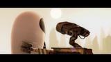 Валл-и ухаживает за Евой ... отрывок из мультфильма (ВАЛЛ-ИWALL-E)2008