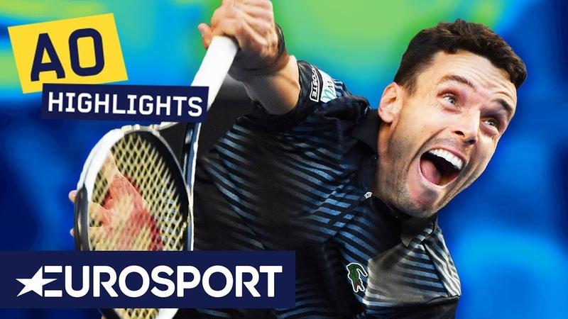 Marin Čilić vs Roberto Bautista Agut Highlights | Australian Open 2019 Round 4 | Eurosport