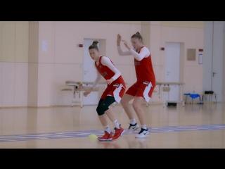 Новая женская сборная России по баскетболу в Чехии на чемпионате Европы-2017