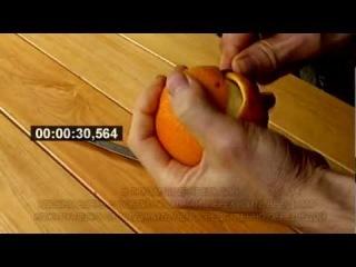 Как почистить апельсин? Самый быстрый и удобный способ.