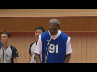 Dennis Rodman Sings California Love to Kim Jong Un