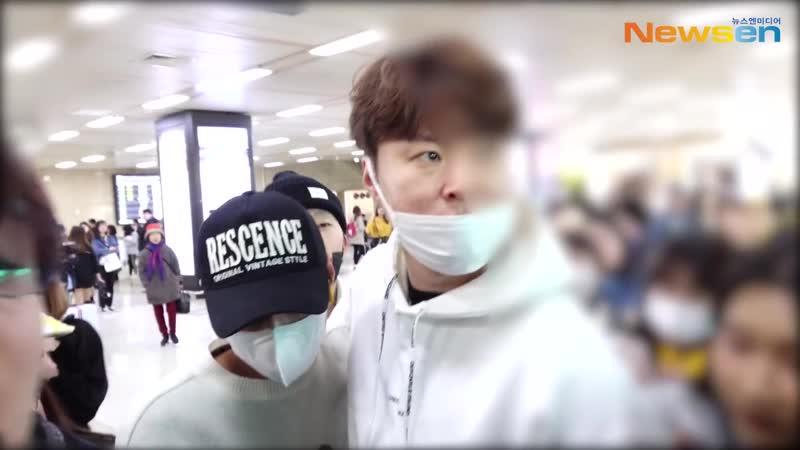 Park Jihoon (박지훈), 오랜만에 윙깅이 깜찍 브이 [NewsenTV]