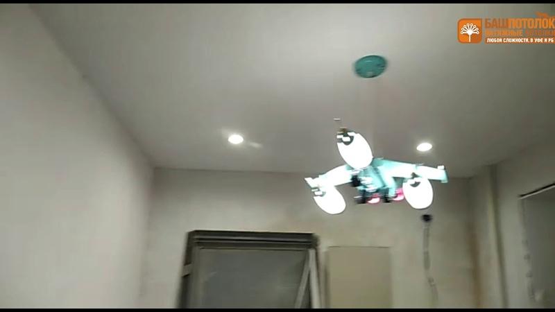 Двухуровневые натяжные потолки со светодиодной подсветкой