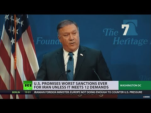 'Strongest sanctions in history': Pompeo issues 12 demands to Iran