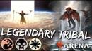 Mardu Legendary Tribal MTG Arena Mardu Red White Black Legendary Deck in M19 Standard