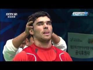 2014 Asian Games Weightlifting 85kg Men C&J 1of2