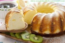 Творожный пирог с лимоном