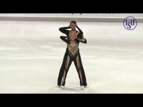 Alexa SCIMECA Chris KNIERIM USA Short Program Nebelhorn Trophy 2018