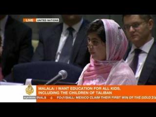 Malala Yousafzai's address to the UN