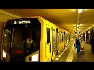 Modern U-Bahn Berlin
