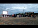 Фанзона у театра СурГУ