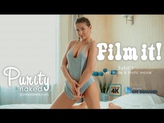 Film it! Sybil (Art nude, erotic movie, UltraHD 4k) ( Сексуальная, Приват Ню, Private Модель, Nude 18+ )