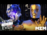 Famous Robots play Never Have I Ever (Ep 2) - Garlic Jackson on MEM