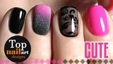 Easy nail art for short nails #11