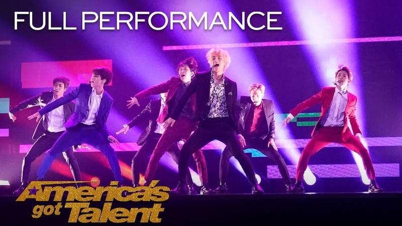 BTS Performs Idol on AGT America's Got Talent 2018