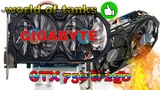 GIGABYTE GTX 750 Ti 2 Гб Видеокарта для world of tanks