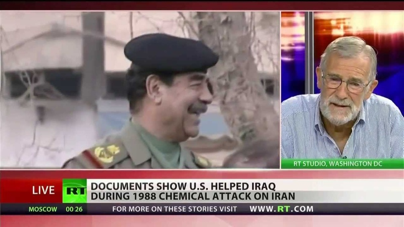 CIA helped Iraq use chemical weapons on Iran
