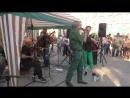 выступление музыкантов на ХХ фестивале кузнечного мастерства в Донецке