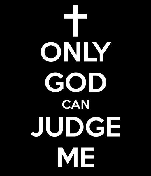 Открытка, картинки с надписью бог мне судья