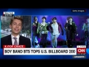 Thank you @CNNToday for having me on to talk about @BTS_twts history-making accomplishment on the Billboard charts! You can watc
