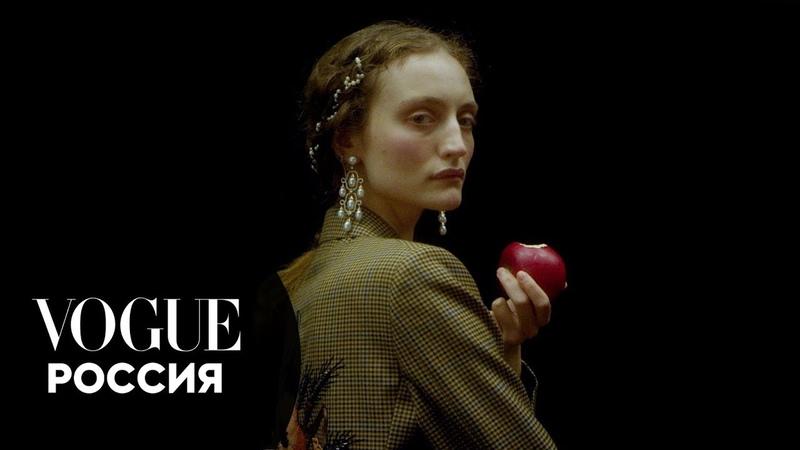 Ренессанс сегодня российские модели в образах героев живописи