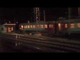 Поездка на поезде №511/512 Москва — Адлер, отправление, вид из окна поезда