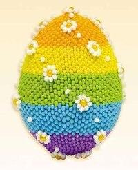 В набор входит:цветная схема, описание, бисер, бусины, игла, заготовка для яйца.  Цветов: 6.