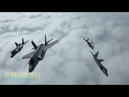 US F-22 Stealth Jets Simulate Dogfights with Norways F-35 Warplanes