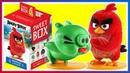 Энгри бердз Киндер Сюрприз Angry Birds в кино Kinder Surprise