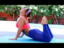 Hot yoga stretching exercises to maintain flexibility for spine | hot stretching
