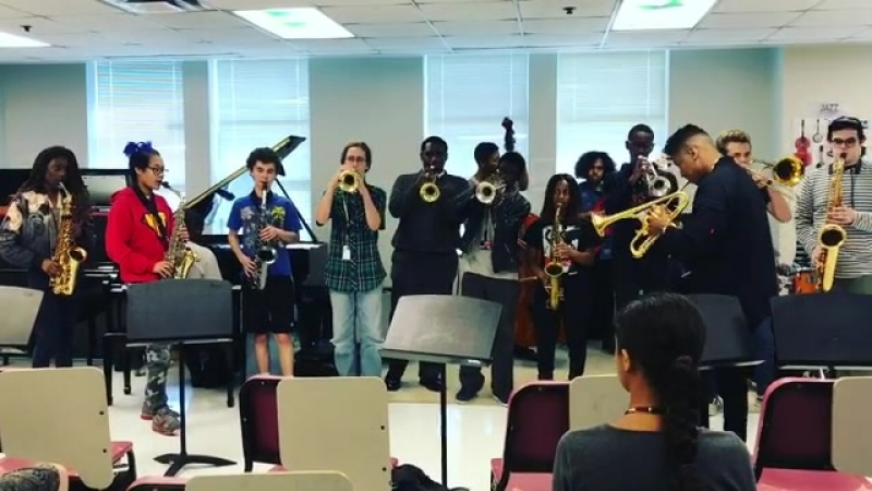 Had such an incredible time with the students at my alma mater N.O.C.C.A Future looks bright in New Orleans!(1)