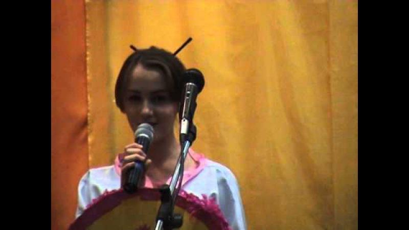 Миллион алых роз на корейском языке гр. Камертон. Белоусовская ОШ 1, Восточный Казахстан.
