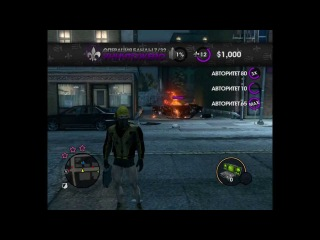 funny moment in The Saints row 3 the third хД