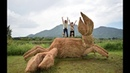 Japan's 10th Wara Art Festival Is Going Crazy Over Super Sized Rice Sculptures