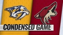 11/15/18 Condensed Game: Predators @ Coyotes