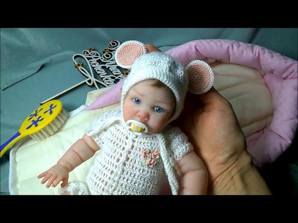 Авторская кукла из силикона Эмилия Silicone author's doll Emilia