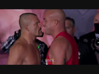 Chuck Liddell vs. Tito Ortiz 3 Weigh-In Staredown