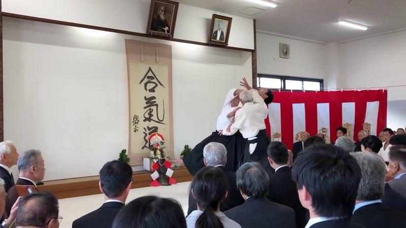 公益財団法人合気会平成31年鏡開き Kagami biraki at Aikikai HQ Dojo 2019