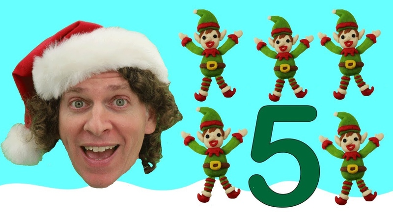 Christmas Counting Song With Matt | Action and Movement Songs | Numbers Learn English Kids