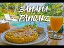 Tortitas de Plátano o Banana Pancakes en Bali