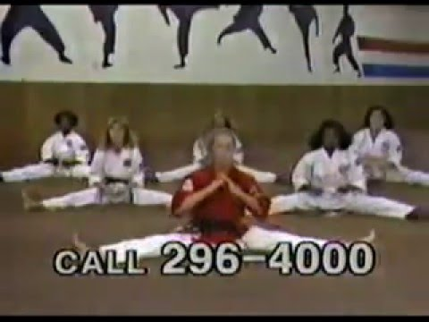 1987 Kims Karate Commercial - Baltimore