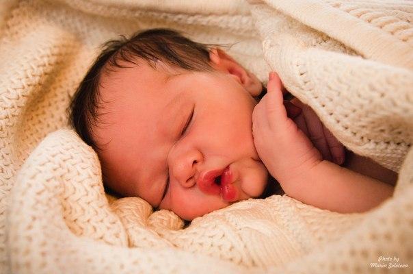 Вот как спят ангелы...